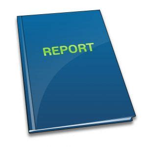 Preparation of the report or thesis